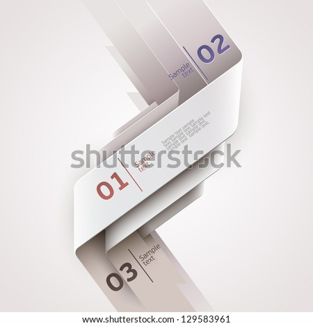 Modern design. - stock vector