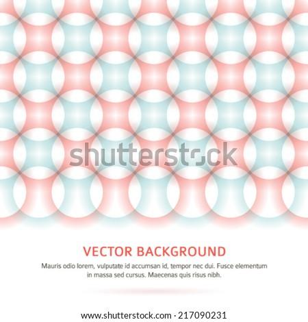 Modern Design geometric style template on blur gray circle background with space place for your text. Vector illustration EPS 10 for title page newsletter for new products or sales, future technology  - stock vector