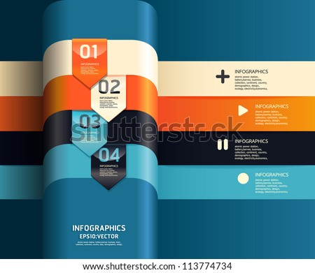 Modern Design Template Can Be Used Stock Vector 113774734 ...