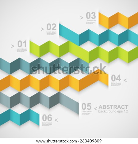 Modern design template. Easy to change colors. - stock vector