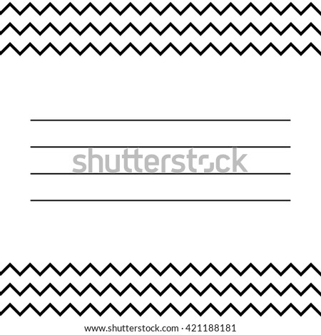 modern design template your text simple stock vector 421188181