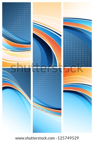 modern designs set. Eps10 - stock vector