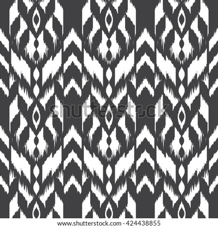Aztec Seamless Pattern American Native Ethnic Stock Vector ...