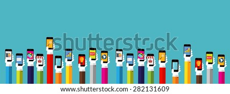 Modern Flat Design Banner for your Business Vector Illustration EPS10 - stock vector