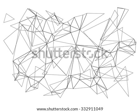 Modern geometric background. Polygonal art. Abstract backtop. Web design background.