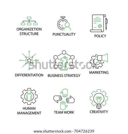 organizational direction setting key concepts and Organizational development: implementing planned change  key processes that go on within the team  much divorced from the direction and purpose of the larger.