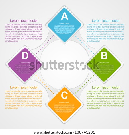 Modern infographic. Design elements.