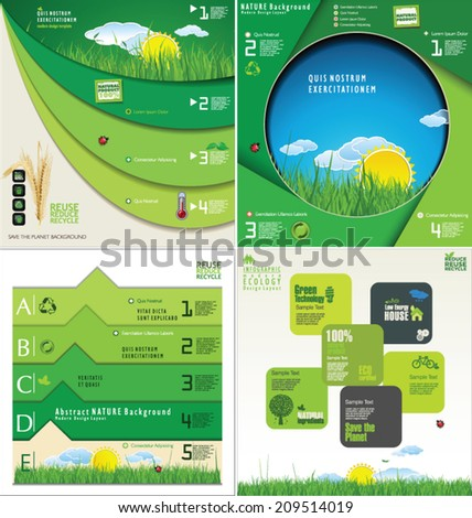 Modern infographic Design Layout - stock vector
