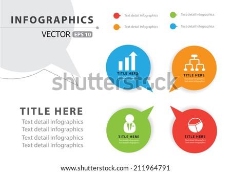 Modern infographic Design Vector - stock vector