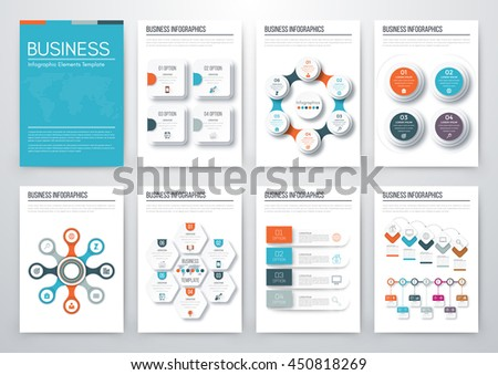 Infographic Presentation Templates Business Brochures Information ...