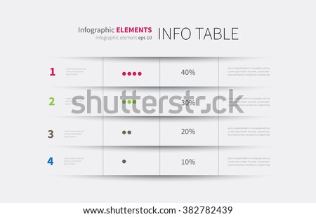 table graph template