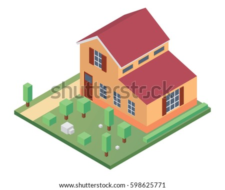 Residential House Stock Images, Royalty-Free Images & Vectors ...