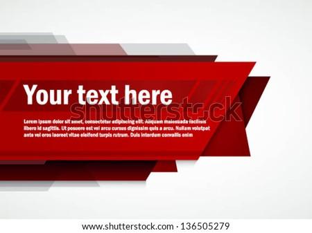 Modern Layout / Print / Poster Template Vector Design / Layout Design / Background / Graphics - stock vector