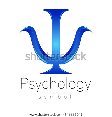 Psychology symbol stock images royalty free images vectors modern logo of psychology psi creative style logotype in vector design concept thecheapjerseys Image collections
