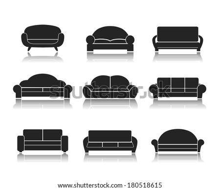 couch stock images royalty free images vectors shutterstock. Black Bedroom Furniture Sets. Home Design Ideas