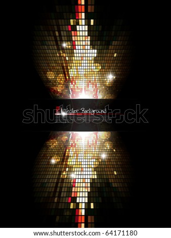 Modern mosaic background. Vector illustration. - stock vector