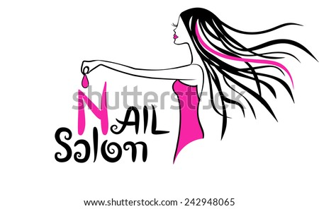 modern nail salon logo - Nail Salon Logo Design Ideas