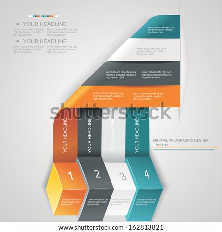 Modern options banner,can be used for workflow layout, infographics, number llines, web design.