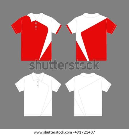modern polo shirt design template vector 491721487 shutterstock. Black Bedroom Furniture Sets. Home Design Ideas