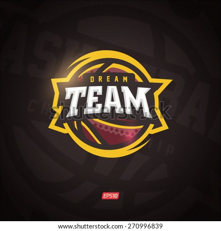 Basketball Logo Stock Images, Royalty-Free Images & Vectors ...