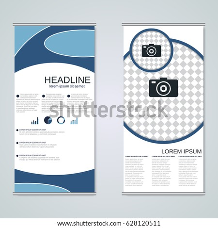 modern visiting card banner badge poster stock vector 347885171