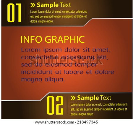 modern text box template for website computer graphic and internet, numbers.