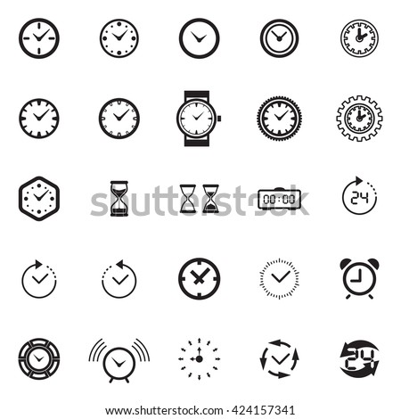Modern time Icon Vector, time Icon Art, time Icon eps, time Icon AI, time Icon logo, time Icon Sign, time icon Flat, time Icon design, time icon app, time icon UI, time icon web, time icon black - stock vector