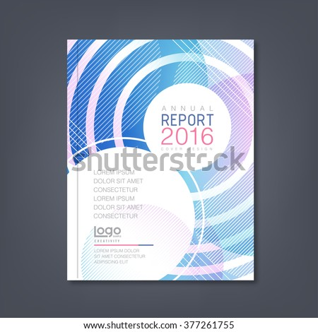 Modern Vector design template with abstract background design for corporate business annual report book cover brochure flyer poster,vector illustration - stock vector