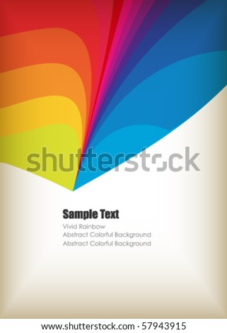modern vector frame with space for your text - stock vector