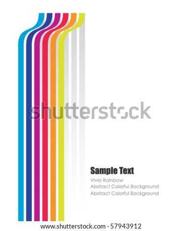 modern vector poster with space for your text - stock vector