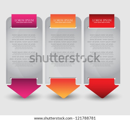 modern web banners - stock vector