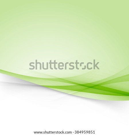 Modernistic abstract futuristic swoosh line layout vivid background template. Vector illustration - stock vector