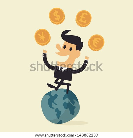 money - stock vector