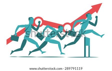 Money challenge - stock vector