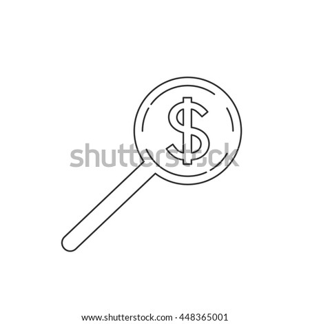 Money, finance, payments and business icon vector.