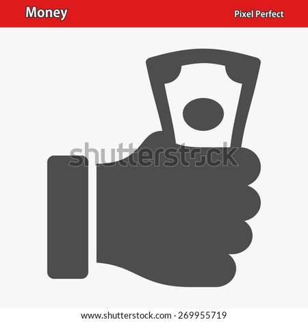 Money Icon. Professional, pixel perfect icons optimized for both large and small resolutions. EPS 8 format. - stock vector