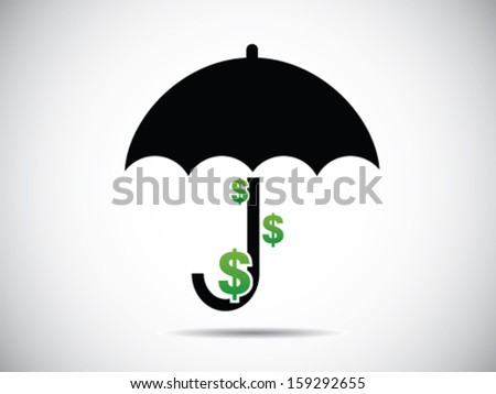 Money In Umbrella