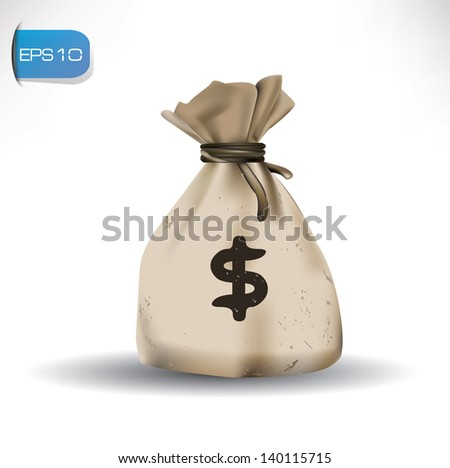Money on white background,vector