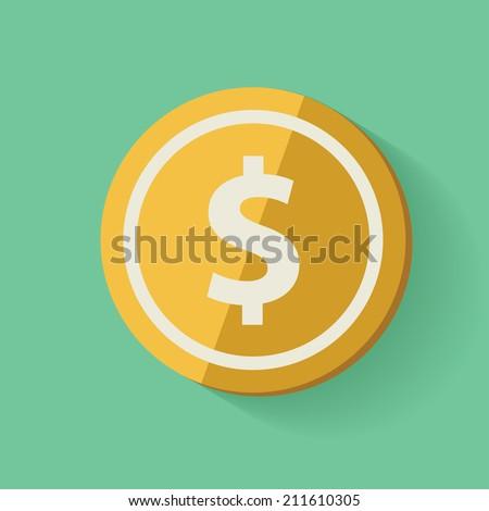 Money symbol,clean vector - stock vector