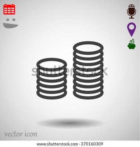 money Vector icon 10 EPS - stock vector