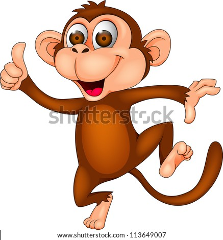 monkey cartoon dancing - Images Cartoon Animals