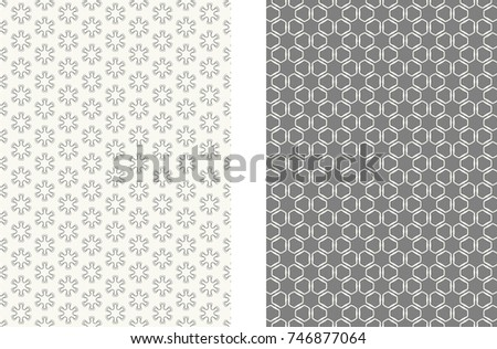 Monochrome abstract geometric line pattern size stock vector 2018 monochrome abstract geometric line pattern size a4 trendy linear background collection cover header colourmoves