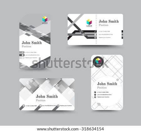 Monochrome business name card organization corporate stock vector monochrome business name card organization corporate card design vector illustration colourmoves