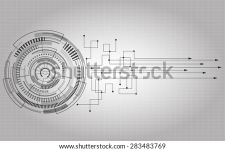 monochrome science futuristict  technology business background