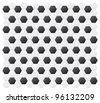 Monochrome vector ornament - soccer - stock vector