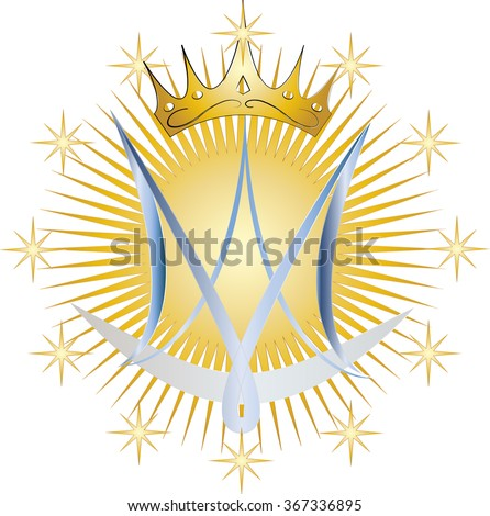 Virgin Mary Symbol Symbols Free Download