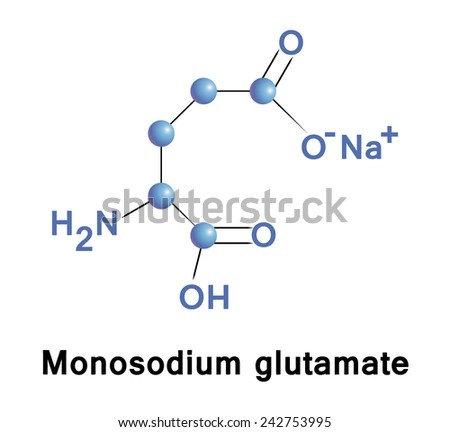 Monosodium cyclamate is an artificial sweetener. Banned in USA. Vector illustration. - stock vector