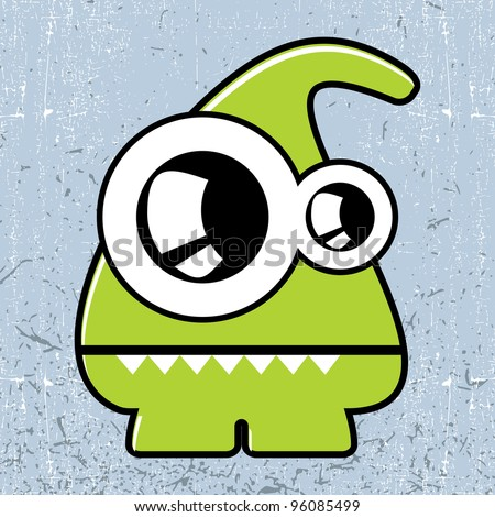 Monster Stock Vector 96085499 Shutterstock