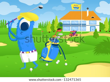 monster play golf