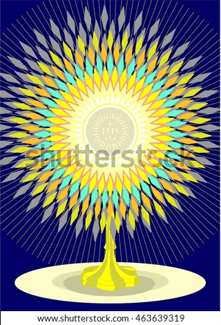 Monstrance Stock Photos, Royalty-Free Images & Vectors - Shutterstock